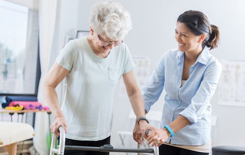 Arms help in improving walking ability in stroke patients