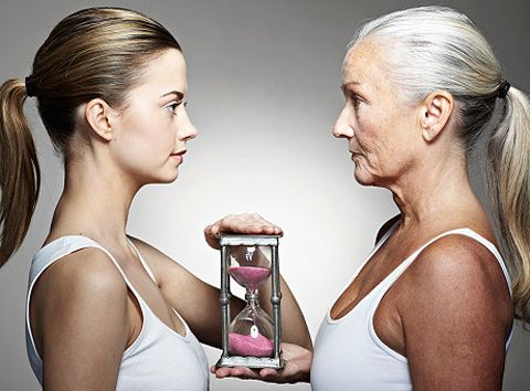 Slower metabolism decreases ageing