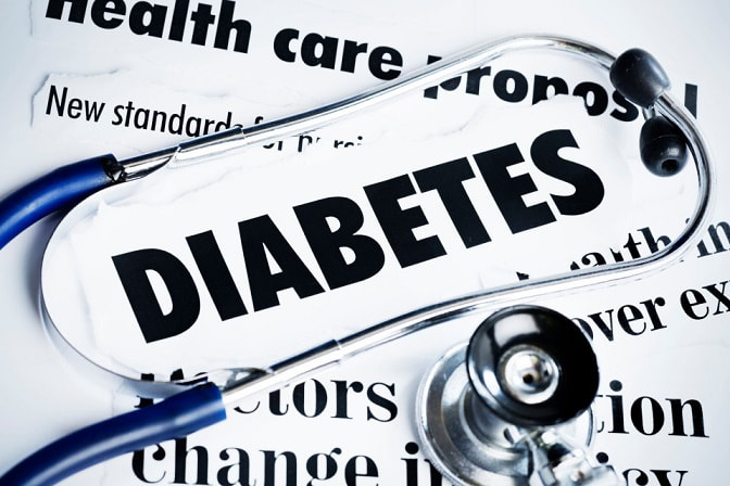 Genetics & a poor lifestyle can cause diabetes