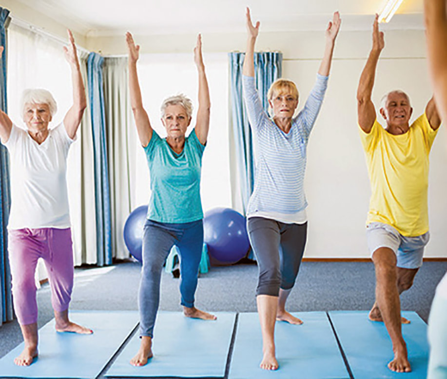 Exercising based on individuals' age is a great motivational factor