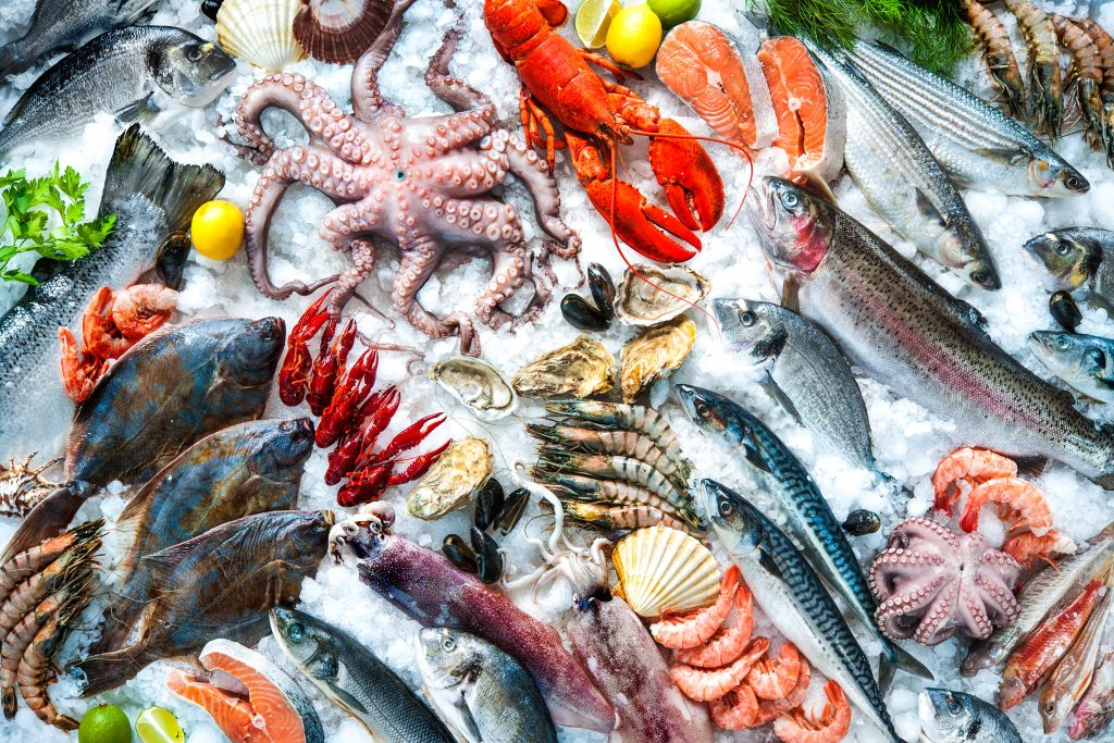 Cooking to a particular temperature is mandatory while preparing seafood-based dishes