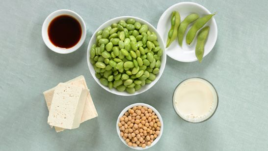 Soy is a rich source of isoflavones, phytoestrogens that help with sleep