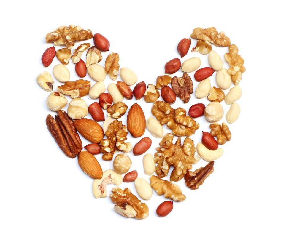 Nuts are rich in unsaturated fats that offer protection against cholesterol