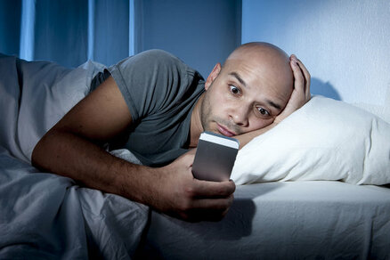 Social media has led to insomnia in many people
