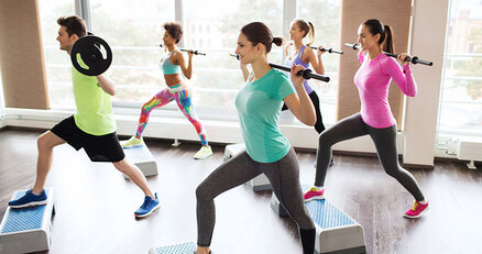Extroverts prefer to workout in groups