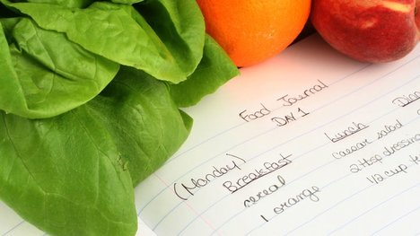 Writing down helps you maintain portion control
