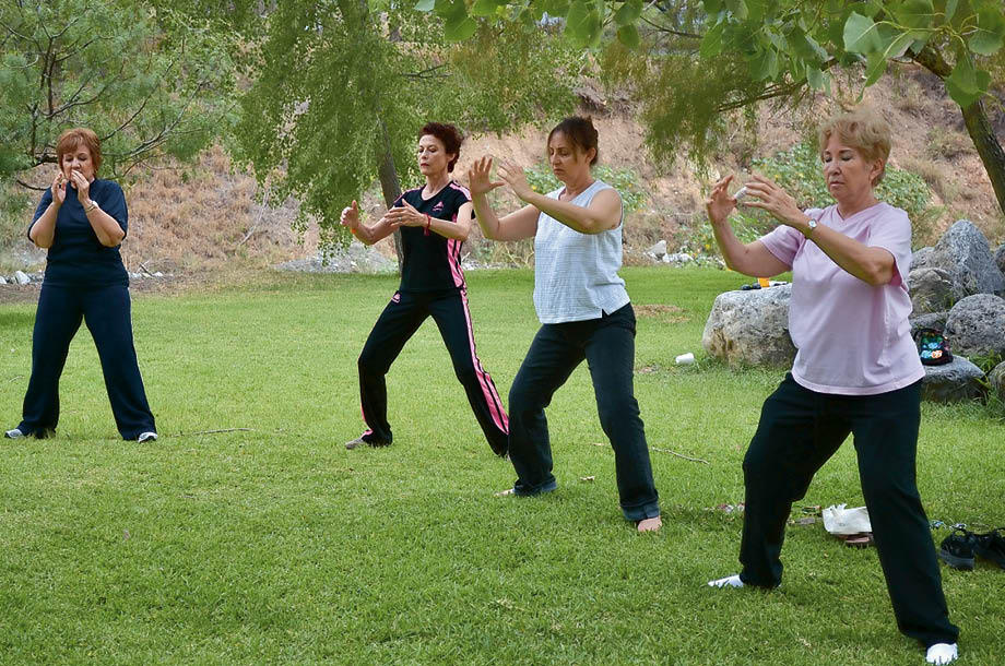 Tai chi is good for the elderly population's brain health
